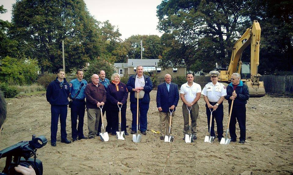 Banna firestation ground breaking