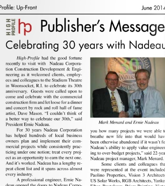 Nadeau Celebrates 30th party